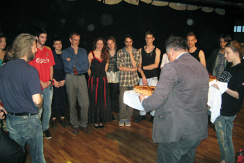 Second year Student of acting and Directing, category: Nikita Milivojevic, prof.